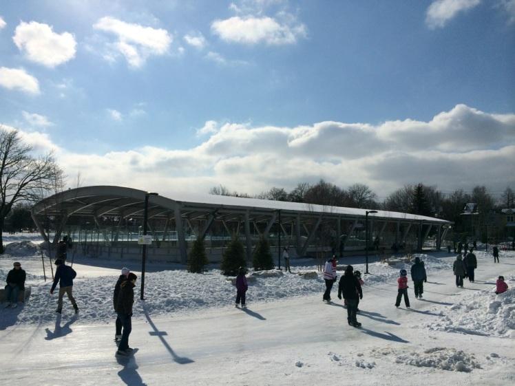 Greenwood Park Skating Trail