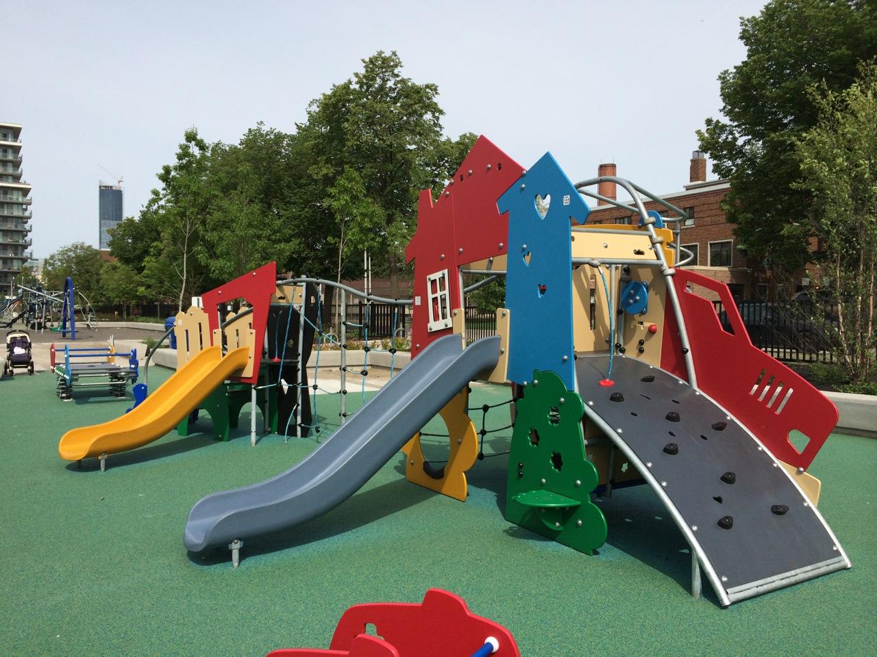 Regent Park Playground Kids In T O