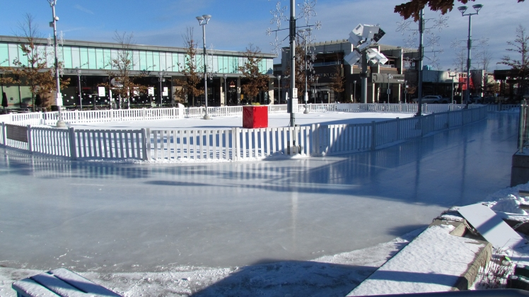 The Skating Oval - Photo courtesy of the Shops at Don Mills.