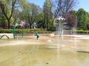 June Rowlands SplashPad