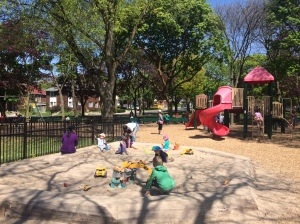 Sharon Lois and Bram playground Toronto