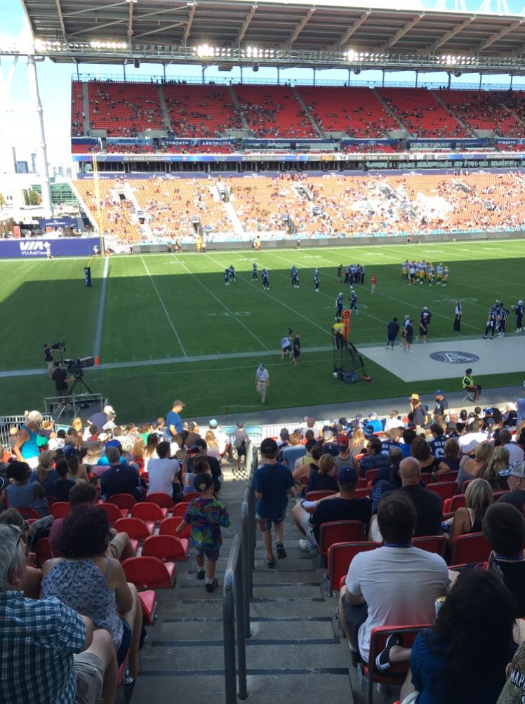 Toronto Argonauts BMO Stadium Kids