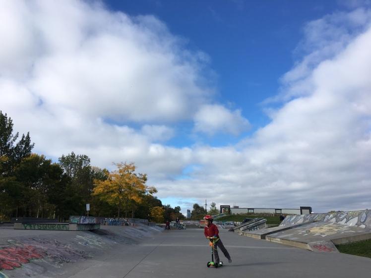 Skatepark Skateboard Toronto KidsinTO